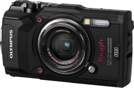 Olympus digitalni fotoaparat Tough TG-5, podvodni, črn