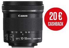 Canon objektiv EF-S 10-18mm f/4.5-5.6 IS STM