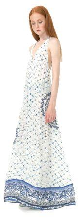 Desigual ženska obleka Helena M večbarvna