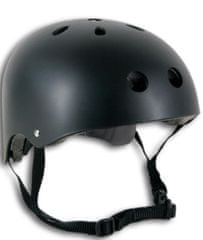 Spartan čelada Skater, črna, S
