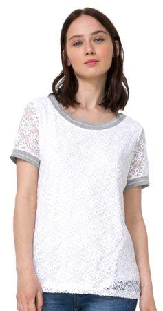 Desigual ženska majica Escote Barco XL bela