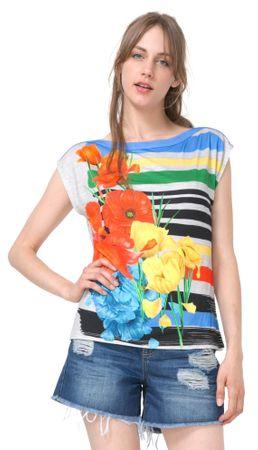 Desigual ženska majica Sarita S večbarvna