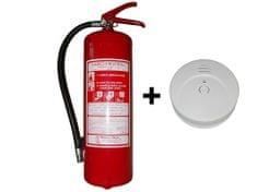 Hastex Sada hasicí přístroj práškový P6Te+kouřový požární hlásič