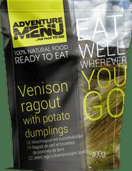 Adventure Menu Jelení ragú s bramborovými špalíčky