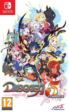 Nintendo Disgaea 5 Complete (Switch) Játékprogram
