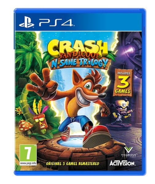Activision Crash Bandicoot N.Sane Trilogy / PS4