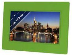 Braun Phototechnik digitalni foto zaslon DigiFrame LED 709, zelen