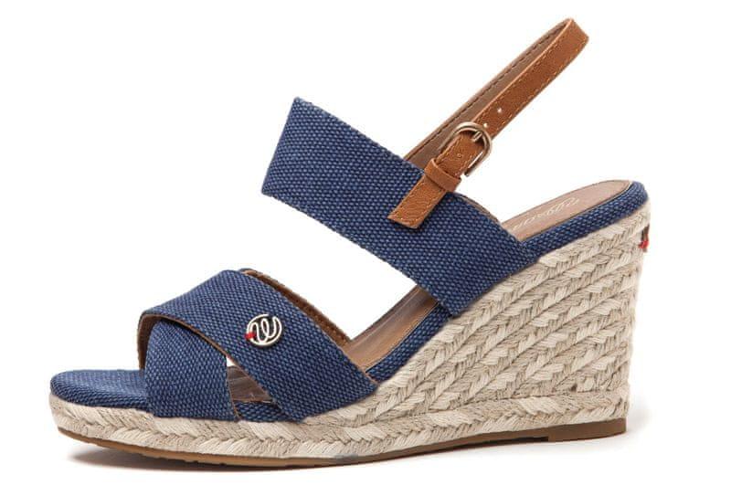 Wrangler dámské sandály Brava Cross 41 tmavě modrá