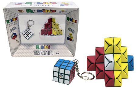 Rubik RUBIKOVA KOCKA 3X3 OBESEK + TRIAMID