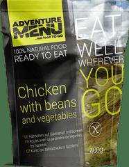 Adventure Menu Kuře po zahradnicku s fazolemi