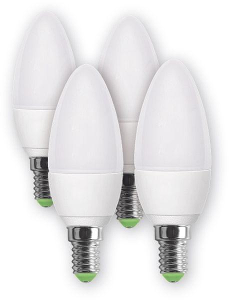 Retlux LED žárovka REL 16 5W, 4 ks