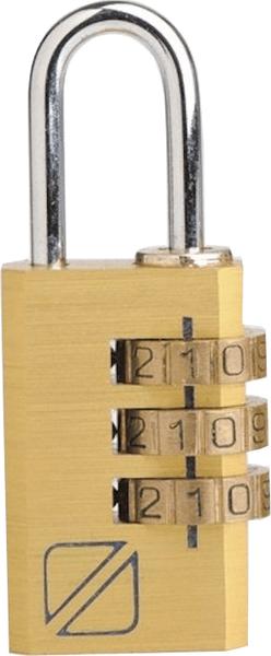 REAbags Bezpečnostní kódový zámek na zavazadla zlatý