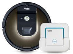 iRobot Roomba 980 + Braava jet 240 zdarma