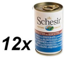 Schesir Konzerv Cat - tonhal + hering 12 x 140g