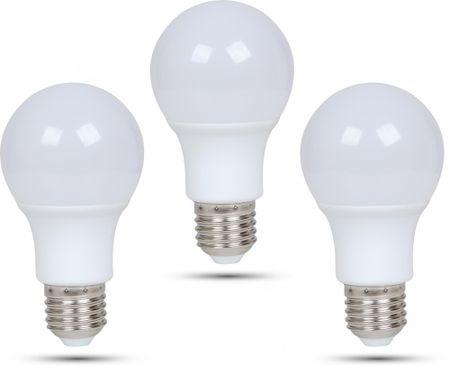 Retlux A60 E27 žárovka 9W teplá bílá, 3 ks