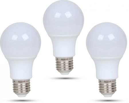 Retlux A60 E27 LED izzó 9W nappali fehér, 3 db