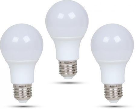 Retlux A60 E27 LED žárovka 9W denní bílá, 3 ks