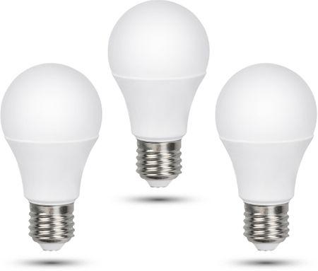 Retlux A60 E27 LED žiarovka 12W denná biela, 3 ks
