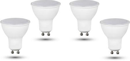 Retlux GU10 žiarovka 3W teplá biela, 4 ks