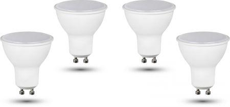 Retlux GU10 žiarovka 5W teplá biela, 4 ks