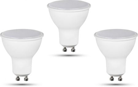 Retlux GU10 žárovka 6W teplá bílá, 3 ks