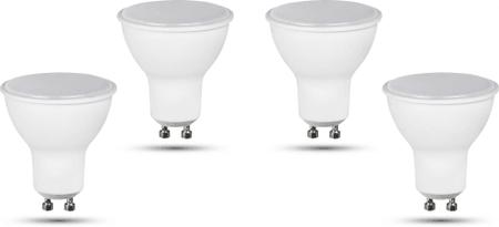 Retlux GU10 žiarovka 5W denná biela, 4 ks