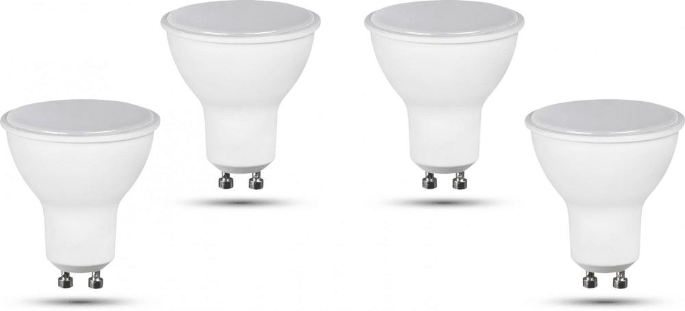 Retlux GU10 žárovka 5W studená bílá, 4 ks