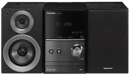 Panasonic mikrosystem SC-PM602EG, czarny