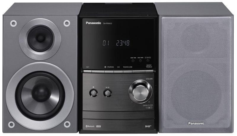 Panasonic SC-PM602EG-S, stříbrná