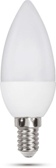 Retlux C35 E14 gyertya 6W nappali fehér, 3 db