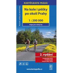 Na kole i pěšky po okolí Prahy /1:200 000