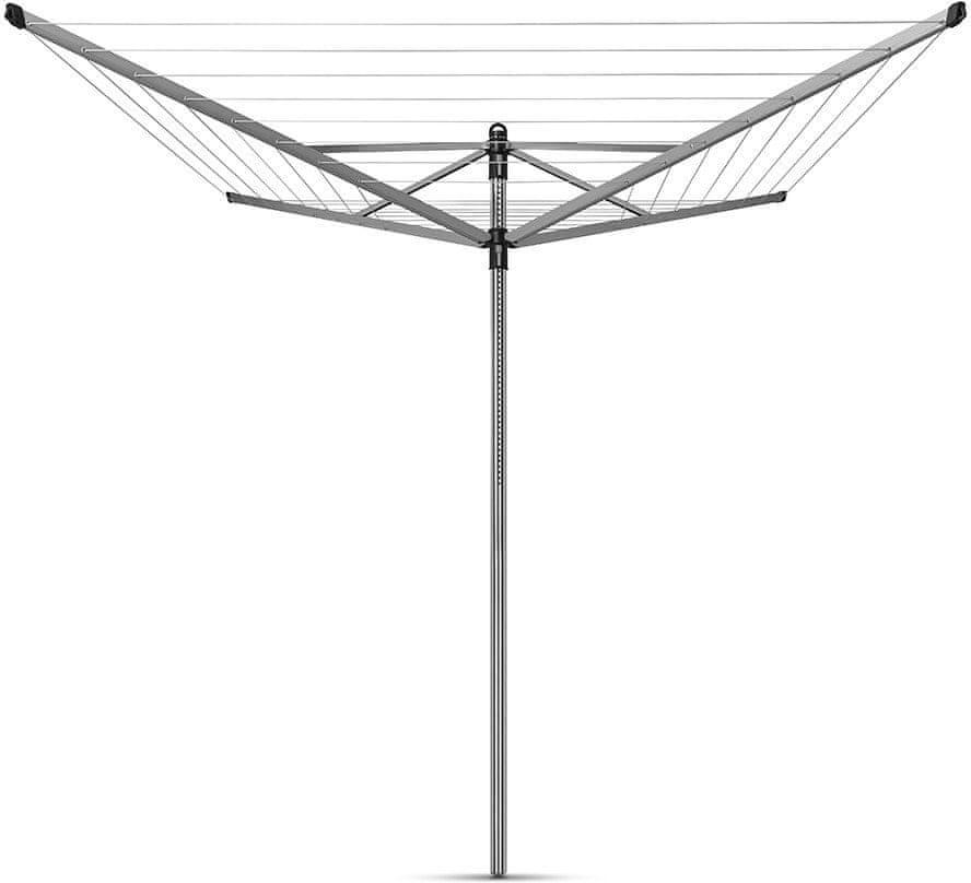 Brabantia Sušák na prádlo Brabantia Lift-O-Matic 50m, kovový stojan