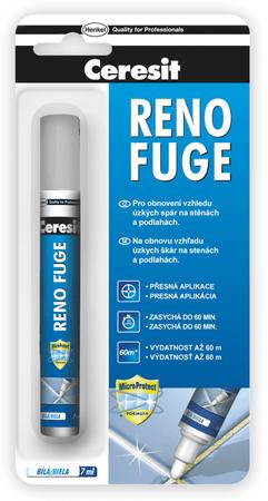 Ceresit Obnovovač spár Reno Fuge 7 ml, bílý