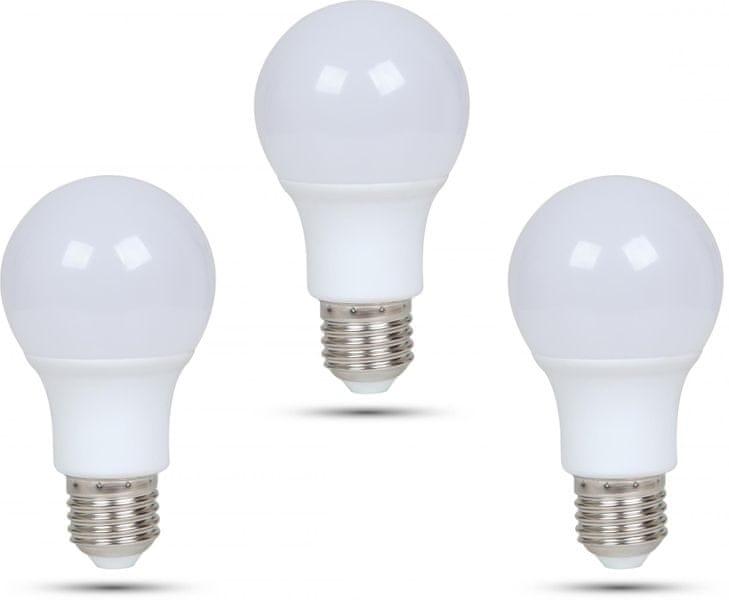 Retlux A60 E27 žárovka 6,5W studená bílá, 3 ks