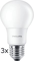 Philips CorePro Ledbulb 5-40W A60 E27 840, 3 szt.