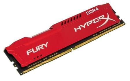 Kingston pomnilnik DDR4 DIMM HyperX FURY Red 16 GB/2400 MHz, CL15 (HX424C15FR/16)