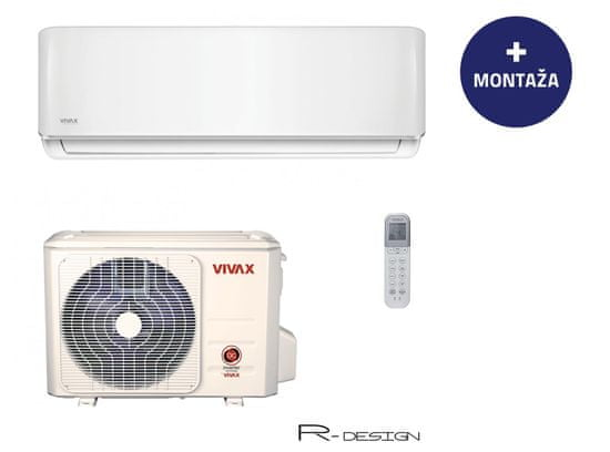 Vivax klimatska naprava ACP-12CH35AERI, z montažo