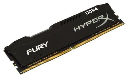 Kingston pomnilnik DDR4 DIMM HyperX FURY Black 16 GB/2666 MHz, CL16 (HX426C16FB/16)