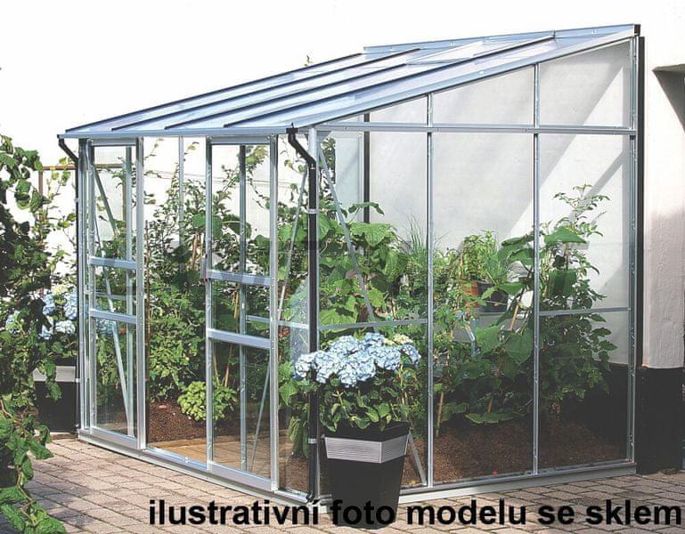 VITAVIA skleník VITAVIA IDA 5200 PC 6 mm stříbrný