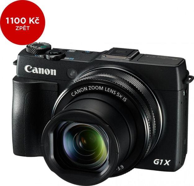 Canon PowerShot G1 X Mark II + 1100 Kč od Canonu zpět!
