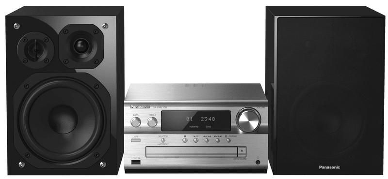 Panasonic SC-PMX150EG-S, stříbrná