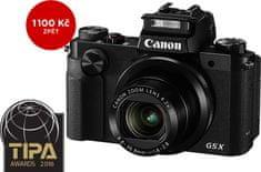 Canon PowerShot G5 X + 1100 Kč od Canonu zpět!