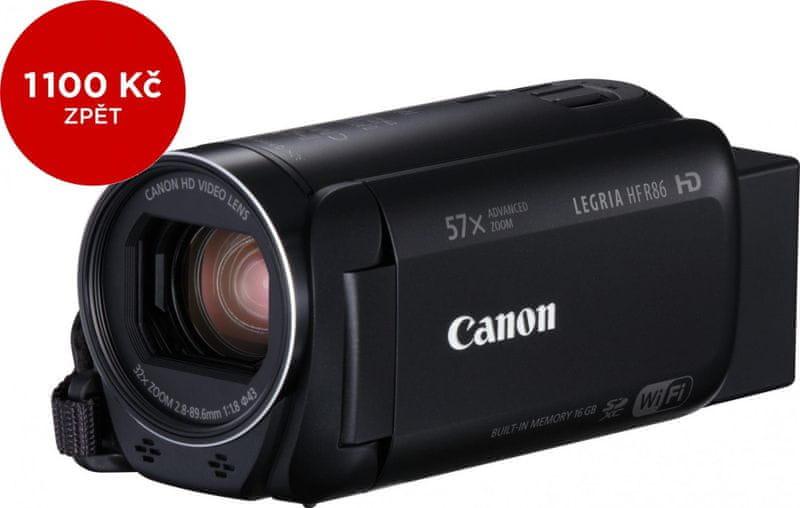 Canon Legria HF R86 + 1100 Kč od Canonu zpět!