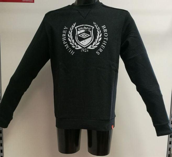 Umbro Mikina Bros Black/Marl L