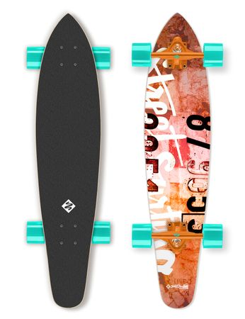 "Street Surfing Longboard Kicktail 36"" Urban Rough"