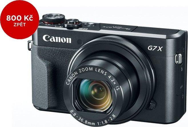 Canon PowerShot G7 X Mark II + 800 Kč od Canonu zpět!