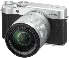 FujiFilm X-A10 + XC16-50 Silver/Black