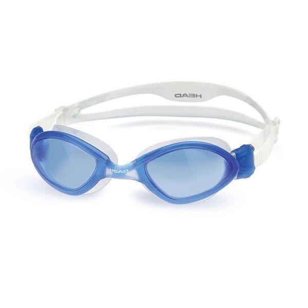 Head Brýle plavecké TIGER LIQUIDSKIN, Head, modrý zorník/modro-bílá