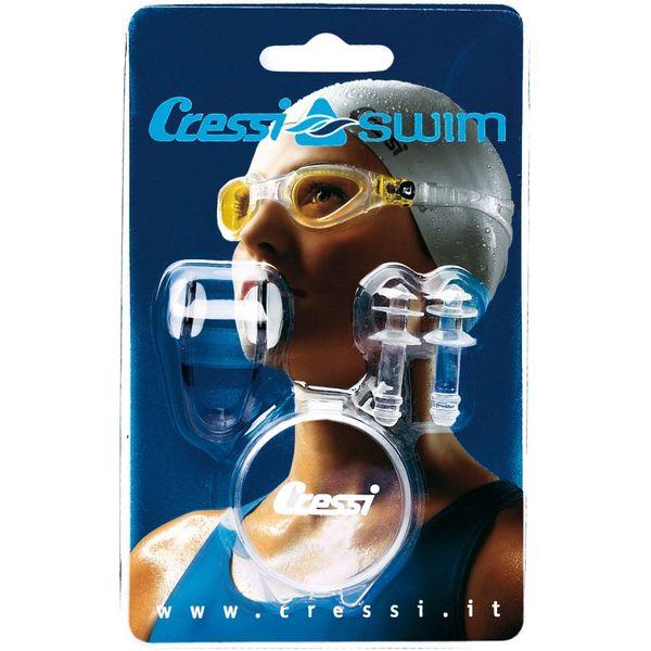 Cressi Sada - skřipec na nos a špunty do uší, Cressi
