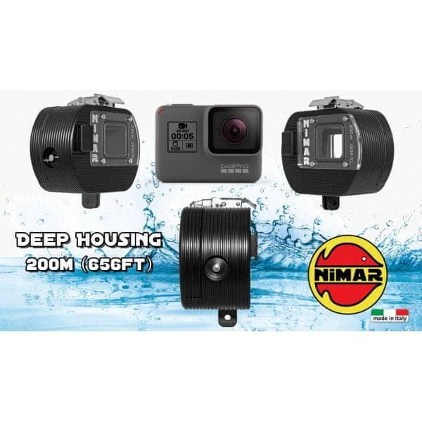 NIMAR Pouzdro podvodní NIHERO5 pro kameru GoPro HERO5, NIMAR